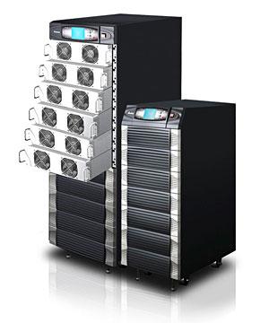 เครื่องสำรองไฟฟ้า UPS Modulon-NH-Plus-Series-UPS-20-120-kVA